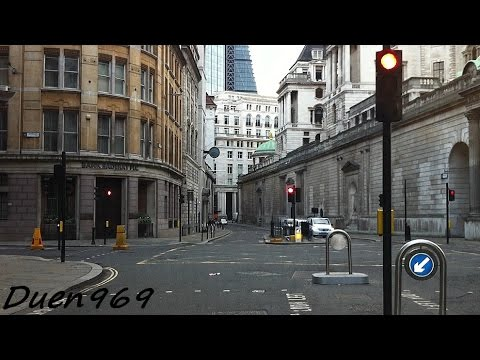 London Streets (477.) - Cheapside - Moorgate - Archway - Highgate - Finchley -Whetstone