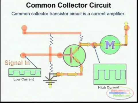transistor wiring diagram transistor drivers   wiring diagrams youtube  transistor drivers   wiring diagrams