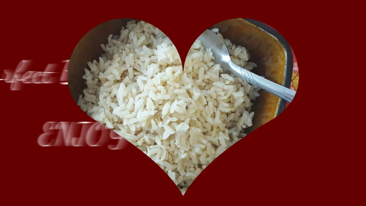 How To Cook Perfect Brown Rice Healthy Food Youtube