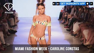Caroline Constas New York Chic Swim Miami Swim Week Art Hearts Fashion 2019 | FashionTV | FTV