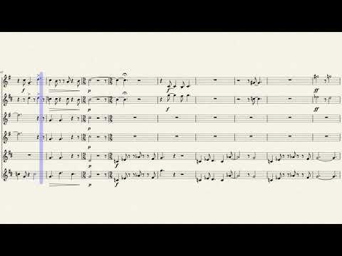 The Incredibles Saxophone Sheet Music