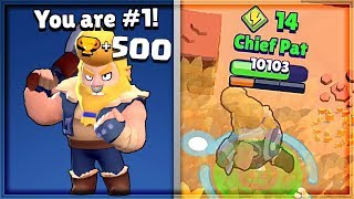 500 TROPHY BULL! Best Tips/Tricks | Brawl Stars Gameplay