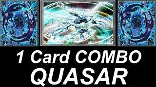 YuGiOh - Broken 1 Card Combo - Shooting QUASAR Dragon - Deck Profile 2016 #2