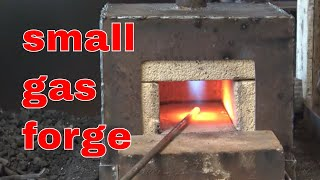 Assembling the brick lined gas forge construction - part 2