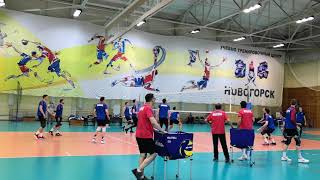 Тренировка сборной России Новогорск