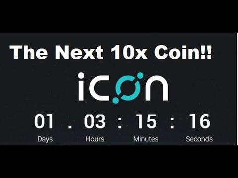 The ICON ICO- Korea's First Major Initial Coin Offering...Easy 10x Returns!!