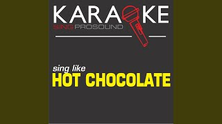 So You Win Again (In the Style of Hot Chocolate) (Karaoke with Background Vocal)