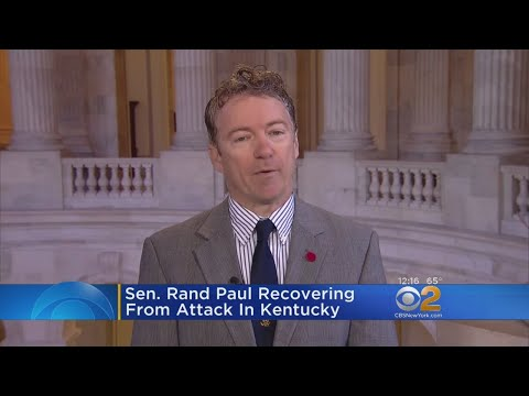 Sen. Rand Paul Attacked At His Home