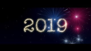 Firework Particles Text Animation in After Effects - After Effects Tutorial - No Plugins