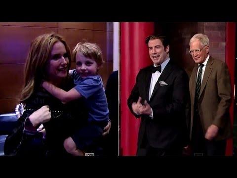 John Travolta's Shy Son Makes His 'Late ' Debut ...Sorta