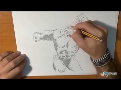 Come Disegnare Hulk Youtube