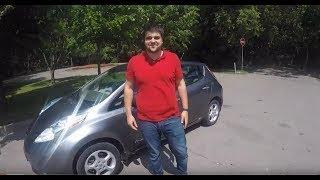 Тестируем Nissan LEAF 2017