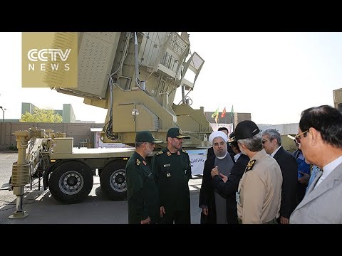 Iran releases images of new missile defense system
