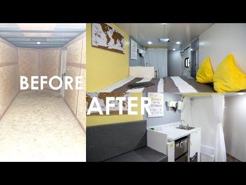 Converting A Cargo Trailer Into A Tiny Mobile Home