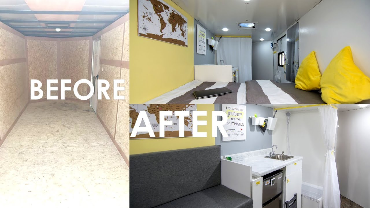 Converting A Cargo Trailer Into A Tiny Mobile Home on pod homes, 1000 sq ft. small homes, busses from tiny homes, tiny key west homes, 400 sq ft. small homes, tiny pueblo homes, mini custom homes,