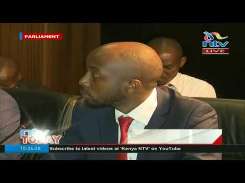 National assembly health committee questions KNH personnel
