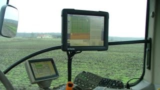 Trimble RTK GPS Agrometius Trekkerweb