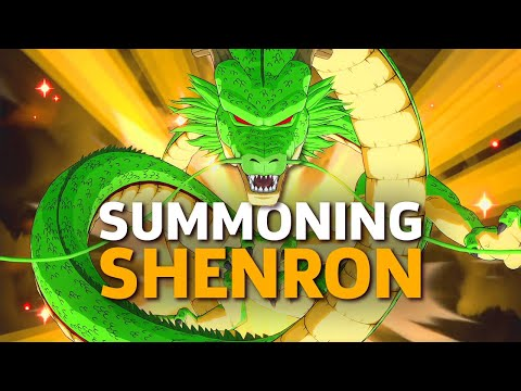 How To Summon And Use Shenron In Dragon Ball FighterZ