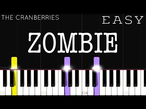 The Cranberries - Zombie | EASY Piano Tutorial