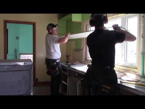 Kitchen Demolition - 1950's Rental Property Renovation Part 7