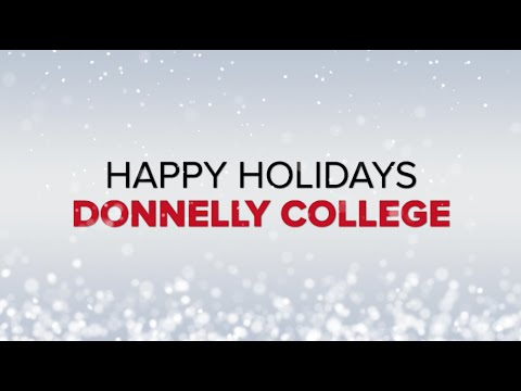Happy Holidays from Donnelly College