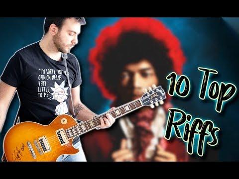 Top 10 Guitar Riffs Of Each Decade - Part 1. 60's