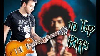 Top 10 Guitar Riffs Of Each Decade   Part 1 6039s