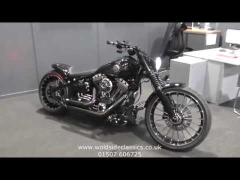 SOLD Harley-Davidson SOFTAIL FXSB Breakout 1690 Custom For Sale In Louth Lincolnshire