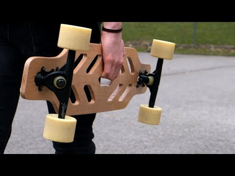 Skeleton Longboard  (Full Build)