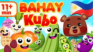 Bahay Kubo | Filipino Nursery Rhyme Compilation | Awiting Pambata Song