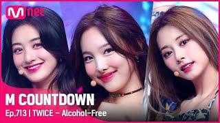 Download [TWICE - Alcohol-Free] Comeback Stage   #엠카운트다운 EP.713   Mnet 210610 방송