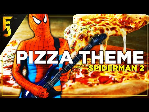 Pizza Theme - Spiderman 2 | Cover by FamilyJules