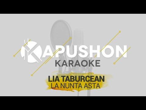 Lia Taburcean - La nunta asta (KARAOKE Version)