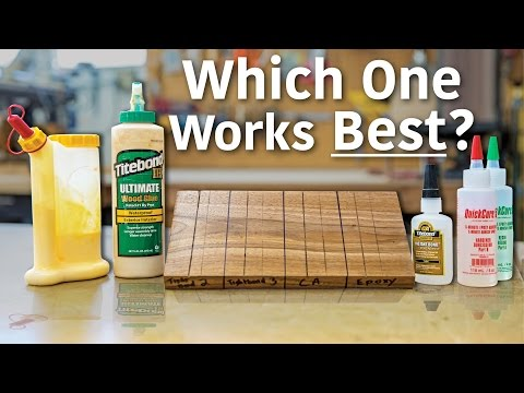 Glue & Sawdust Patching Test - What glue blends in the best?