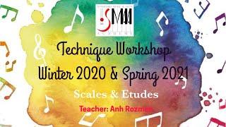SMAA Technique Workshop 2020-2021, Teacher Anh Rozman