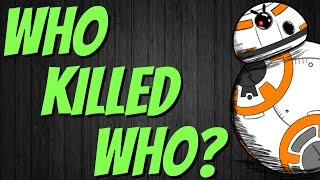 WHO KILLED WHO in Star Wars? | STAR WARS QUIZ