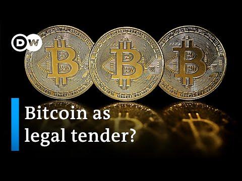 El Salvador wants to adopt Bitcoin as legal tender | DW News
