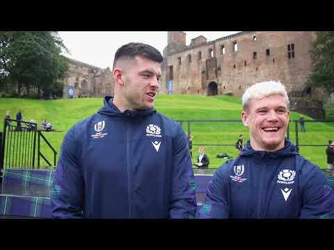 Blair and Darcy on Rugby World Cup selection!
