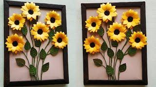 Sunflower Wall Hanging/diy Wall Decor