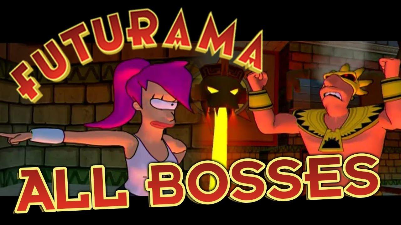 Download Futurama All Bosses | Boss Fights  (PS2, XBOX)