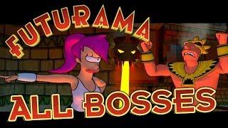 Futurama All Bosses (PS2, XBOX)