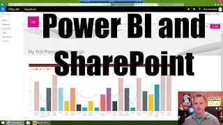 الشروع في العمل مع السلطة BI و SharePoint على الإنترنت