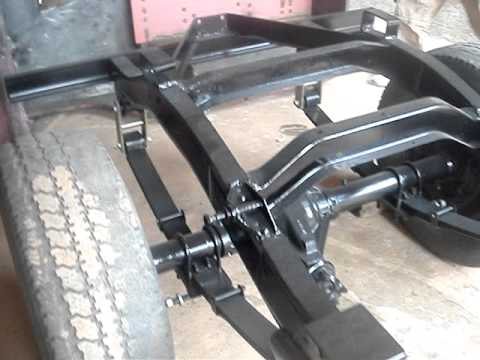 Chassis Jeep Willys Cj5 Pintado