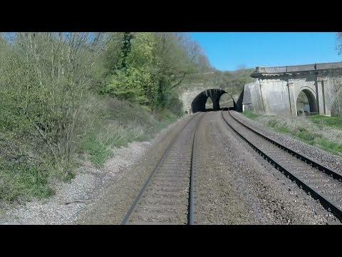 (near) Salisbury to Bath cab video (no audio) - HDL Green Dragon railtour - 18 April 2015