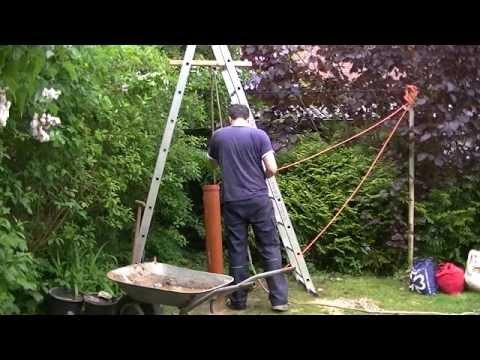 download video brunnenbohren von hand anleitung plunschen well drilling. Black Bedroom Furniture Sets. Home Design Ideas