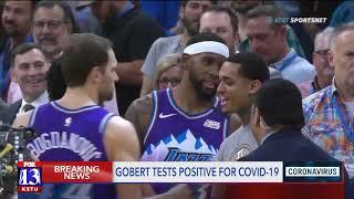Jazz Center Rudy Gobert tests positive for coronavirus, NBA season suspended indefinitely