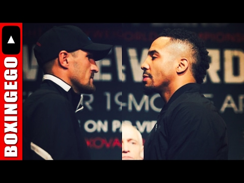 """SERGEY KOVALEV MAKES IT OFFICIAL ANDRE WARD REMATCH NEW MEMO SIGNED WAITING 4 """"SON OF JUDGES"""" 2 SIGN"""