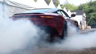 2018 Aston Martin DBS Superleggera: Exterior and Interior Overview and Hill Climb! FoS 2018.