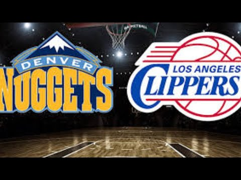 Denver Nuggets Vs La Clippers Live Stream   Nba Live   Play By Play Reaction
