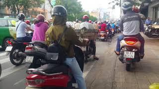 Chợ chung cư,Khuông Việt,Âu Cơ,Tân Phú,Saigon,VietNam Streets, June 4,2018
